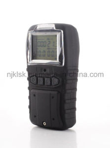 Portable Multiple Gas Analyzer Oxygen, Carbon Monoxide, Hydrogen Sulfide and Methane 4 Gas Detector pictures & photos