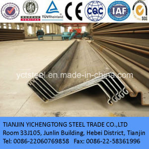 12m~15m Length Cold Forming Sectional Steel Sheet Pile pictures & photos