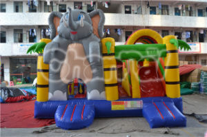 Interesting Elephant Commercial Inflatable Bouncy Combo Chb446 pictures & photos