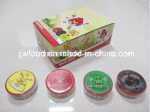 OEM Yummy Chewing Gum with Lovely 3D Sticker pictures & photos