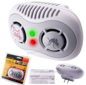 110V Pest Control Ultrasonic Sensor Mice Chaser Mosquito Repeller pictures & photos
