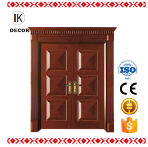 Solid Wood Door Material and Entry Doors Type Interior Door