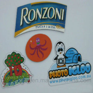 Customized Die Cut Refrigerator Magnet pictures & photos