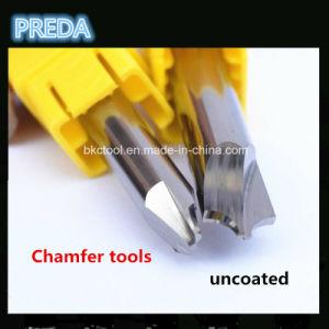 High Quality CNC Carbide 4 Cuts Corner Rounding Cutters Aluminium pictures & photos
