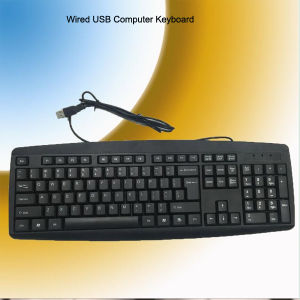 CE RoHS Certificate Wired USB Keyboard (KB-1805) pictures & photos