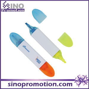 Double Headed Marker Pen Highlighter Promotional Highlighter