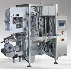 Vertical Form, Fill, Seal Machine for 3 and 4 Side Seal