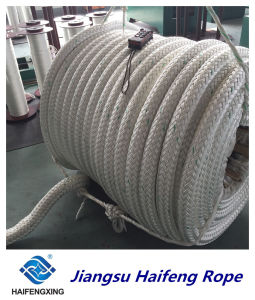 Double-Layer Stranded Fiber Ropes Mooring Rope for Mixed Batch Offshore Operation pictures & photos