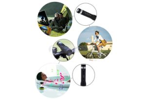 3 in 1 Bass Sport Outdoor Portable Bike Stereo Speakers Bluetooth LED Flashlight Riding Speaker with Torch pictures & photos