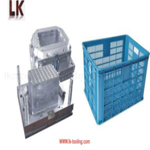 Plastic Injection Molded Fruit Vegetable Basket for Kitchen Storage pictures & photos