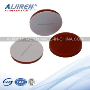 9mm Pre-Slit White PTFE/Red Silicone Septa Used for Lab Bottles HPLC Vials pictures & photos