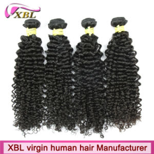 Kinky Curly Original 100% Virgin Remy Human Hair Weave pictures & photos