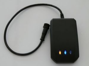 Car Motorcycle GPS Tracker with Sos, Over Speed, Fuel/Power Function (AT-12)