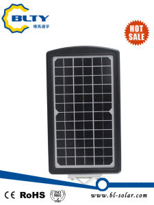10W Solar LED Street Light with Solar Panel pictures & photos