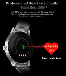 Luxury Bluetooth Wristwatch Heart Rate Monitoring IPS Full Screen Smartwatch for Ios Android pictures & photos