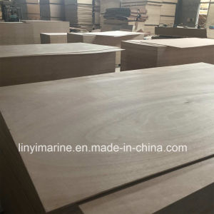 Red Face Okoume Face and Back Hard Wood Core Plywood pictures & photos