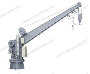 Solas Approval Single Arm Slewing Boat Raft Davit and Crane pictures & photos