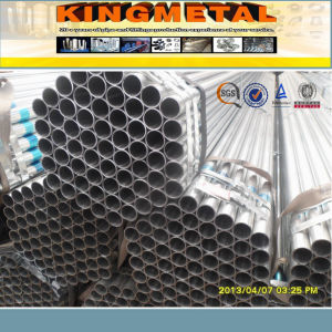 BS1387 Hot Dipped HDG Galvanized Steel Pipe pictures & photos