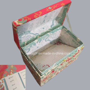 Elegant Printing Paper Recipe Card Box with Cards /Divider Tabs / Stickers pictures & photos