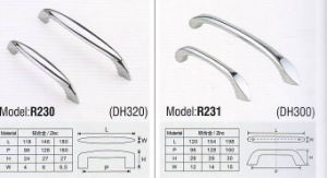 R230 Colorful Hardware Zinc Furniture Handle pictures & photos