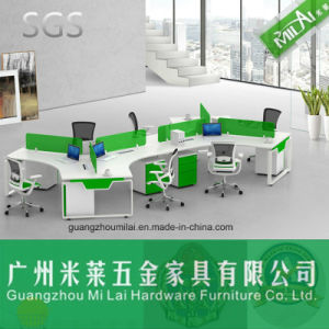 Modern Office Table Desk Metal Structure Computer Table pictures & photos