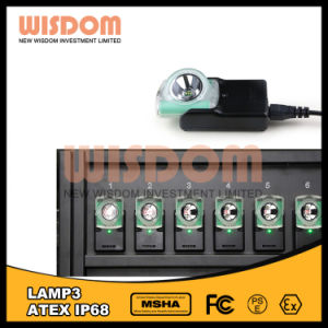 3.7V Li-ion Battery Mining Head Lamps, 12000lux Ledlight Without Cable pictures & photos