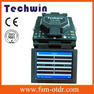 Techwin Core Alignment Splice Machine Arc Optical Fiber Splicer pictures & photos