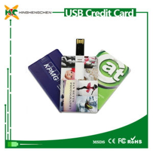 Custom Credit Card USB Flash Pen Drive Wholesale pictures & photos