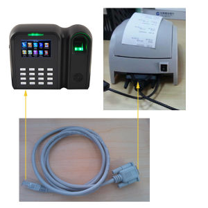 Fingerprint Attendance Machine with TCP/IP or RS232/RS485 (Qclear-C) pictures & photos