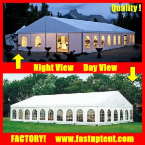 Wedding Party Event Marquee Tent Canopy 3X6m 6X12m 9X18m 10X15m 10X20m 10X30m 12X30m FT pictures & photos
