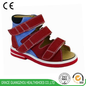 Hot Style Children Orthopedic Shoes Kids Leather Sandals with Thomas Heel pictures & photos