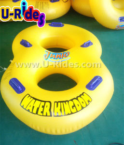 "42"" Very strong Over lap making 2 person Inflatable Swimming Tube for Water Park pictures & photos"