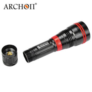 Underwater 100m Diving Flashlight with CREE LED Wy07 pictures & photos