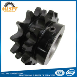 Black Oxide Steel Double Roller Chain Power Transmission Sprockets pictures & photos