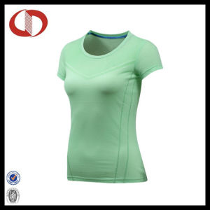 China Wholesale New Pattern Womens T Shirts with Short Sleeve pictures & photos