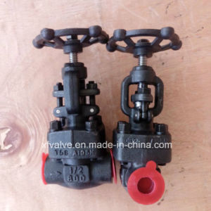 API602 Forged Carbon Steel A105 Socket Welding Globe Valve