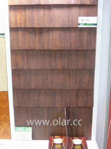 Fiber Cement Board-- Color Wood Grain Pattern Siding pictures & photos