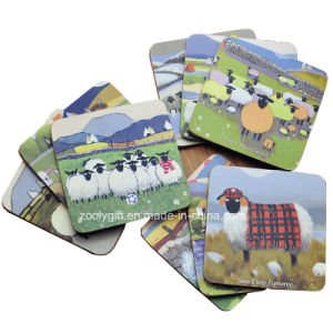 Custom Design Cork Cup Coasters Dinner Coaster Pads pictures & photos
