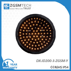 200mm Yellow Round Aspect LED Signal Modules pictures & photos