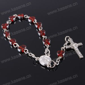 Red Flat ODM Availableoem Welcome One Decade Rosary Bracelet Praying pictures & photos