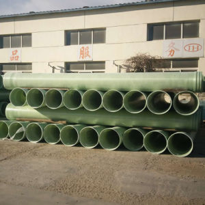 Corrosion Resistant Fiberglass GRP FRP GRP Reinforced Pipe pictures & photos