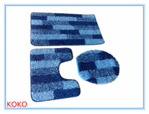 Eco-Friend Toilet Rug Set/ 3 Pieces Bath Carpet