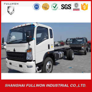 HOWO 4X2 Rhd Light Truck Chassis pictures & photos