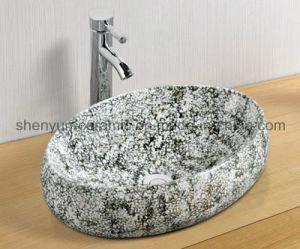 Ceramic Basin Bathroom Color Basin (MG-0046) pictures & photos