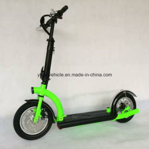 2 Wheels Foldable Adult Surfing Kick Scooter Electric Scooter (ES1201) pictures & photos