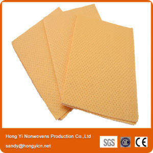 Needle Punched Nonwoven Fabric PVA Chamois Shammy Car Cleaning Cloth