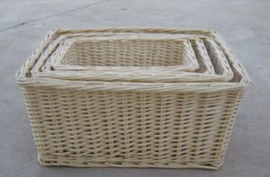 Handmade Wicker Storage Basket with Eco-Friendly (BC-ST1010) pictures & photos