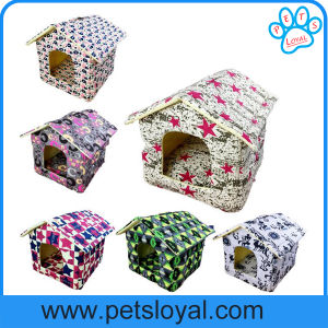 Factory Low Price Pet Cat Dog Bed House (HP-25) pictures & photos
