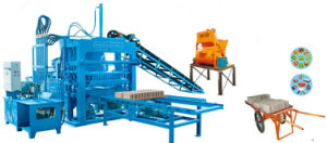 Zcjk Qty 4-20A Hydraulic Semi Automatic Block Production Line Concrete Hollw Block Making Machine pictures & photos