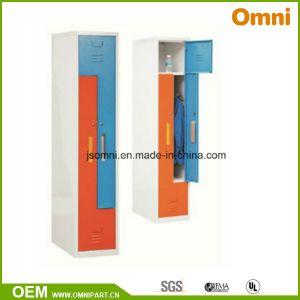 Clothes Locker Cabinet Steel Wardrobe (OMNI-XT-03) pictures & photos